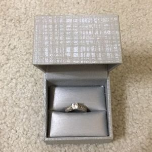 Zales sterling silver ring